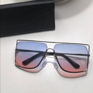 Prive Revaux The Jagger 60mm Square Sunglasses